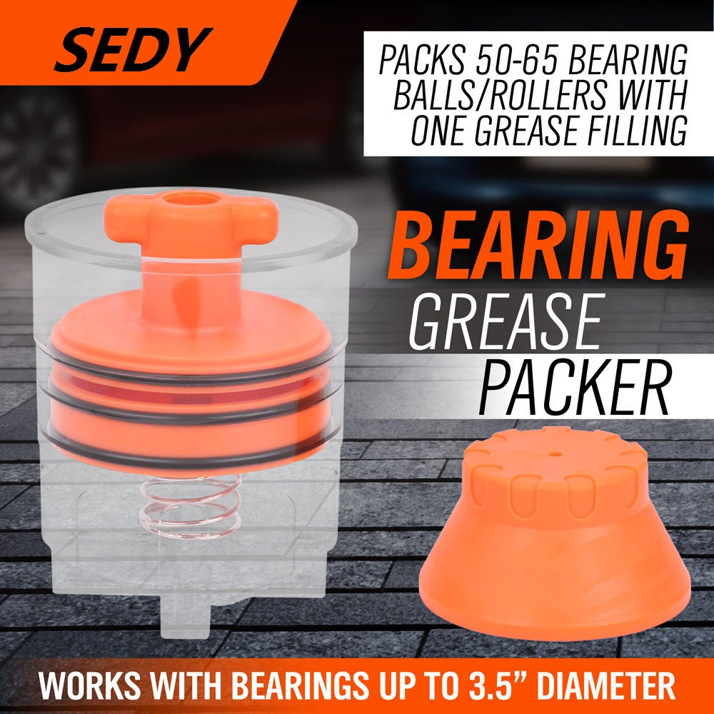 SEDY Handy Packer Bearing Packer Flushes Out Old Grease Automotive Hand Operated Tool Set Filling Tool New