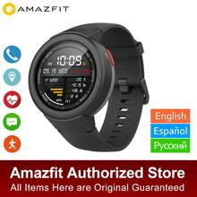 Wersja globalna Amazfit granicy Smartwatch GPS odbieranie połączeń snu Monitor snu muzyki smart watch IP68 wodoodporna 11 sportowe tanie tanio Passometer Tracker fitness Uśpienia tracker Wiadomość przypomnienie Przypomnienie połączeń Odpowiedź połączeń