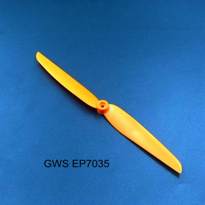 FATJAY 1pc GWS EP7035 direct drive propeller <font><b>7035</b></font> 178*89mm For EDP series 400 RC airplane spare parts prop image