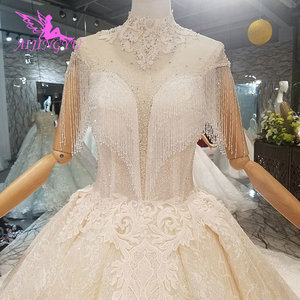 Image 2 - AIJINGYU Wedding Dresses For Bride Gowns By Tulle Asian Cheap Designer Mature Colors Fashion Gown Wedding Dress By