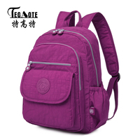 TEGAOTE 2017 Classic Girls School Backpack Female College Bagpack For Teenagers Anti Theft Laptop Casual Rucksack