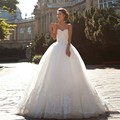 Wedding Dress Off The Shoulder Ball Gown Lace Up Appliques Vestido De Noiva Princesa Com Renda Cheap-Wedding-Dress Amanda Novias