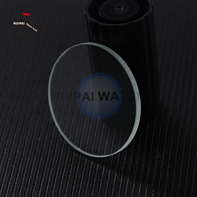 Wholesale 2pcs/lot 2.5mm Thick Watch Glass,26.5mm-45mm Waterproof Watch Replacement Parts Quality Watch Crystal,2pcs Watch Glass