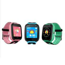 Children's Smart Watch with Camera Pedometer SOS Emergency Wristwatch SIM Card Smartwatch For Ios Android Support English E