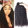 Indian Kinky Curly Virgin Hair 3 Bundles Raw Indian Curly Virgin Hair 10A Remy Indian Virgin Hair Curly Weave Human Hair Bundles