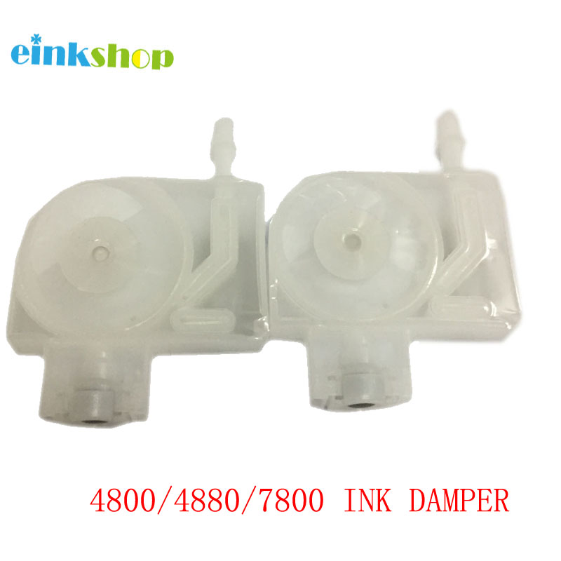 10pcs Ink Damper For Epson  4800 4880 4880c 4000 4450 4400 7400 7450 9400 9450 7800 9800 7880 9880 UV Printer free shipping 20pcs printer damper for epson stylus pro 4000 4400 4450 4800 4880 7400 7450 7880 9400 9450 9880 printer