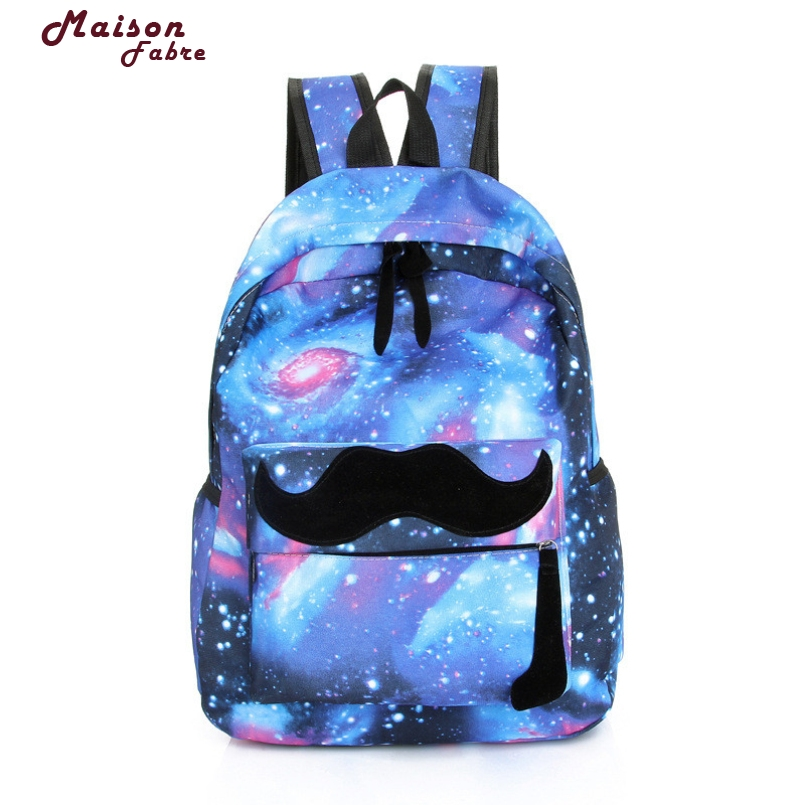 New Fashion Womens Backpack Unisex Boys Girls Canvas Backpack 2017 Fashion Rucksack School Shoulder Bag Leisure School Bag
