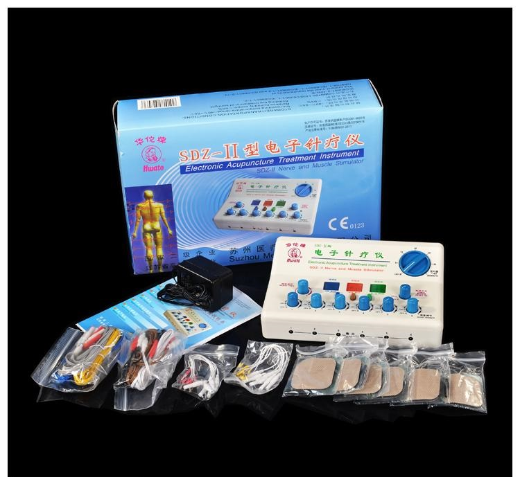 6 Output Warm-needle microcomputer Electrical acupuncture needle moxibustion moxa Therapeutical Therapeutic apparatus Device SDZ top quality 100pcs box zhongyan taihe acupuncture needle disposable needle press needle ear needle
