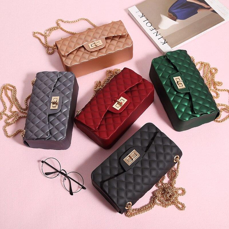 все цены на 2018 Luxury Handbags Women Bags Designer Vintage Chain Crossbody Bags For Women Messenger Bags bolsa feminina Channels Women