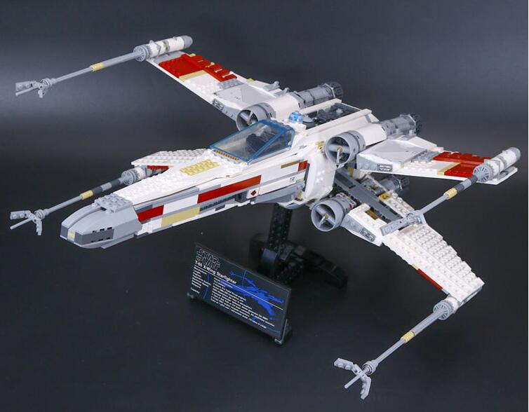L Model Compatible with Lego L05039 1616pcs Red Starfighter Models Building Kits Blocks Toys Hobby Hobbies For Boys Girls