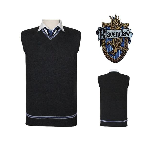 Gryffindor Slytherin Ravenclaw Hufflepuff Vest 4