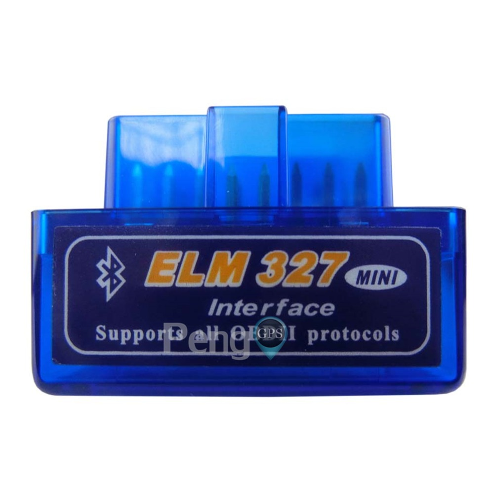 Bluetooth Interface OBD 2 Elm-327 OBDII Auto Diagnostic Tool Scanner ELM 327 Works ON Android Torque PC v 2 1 BT adapter