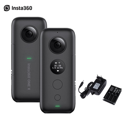 Insta360 ONE X FlowState Stabilization Panoramic Action Camera 5.7K Video 18MP Photo 6 Axis Gyroscope APP Editing for Smartphone