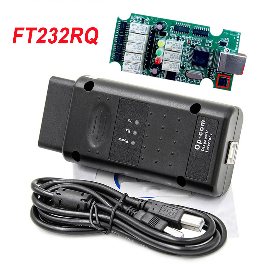 2019 Hot OPCOM 2014V V1.99 FTDI FT232RQ NEW OPCOM 120309a for OPEL Car Diagnostic Tool <font><b>op</b></font> <font><b>com</b></font> <font><b>1.99</b></font> USB Interface OBD2 Scan Cable image