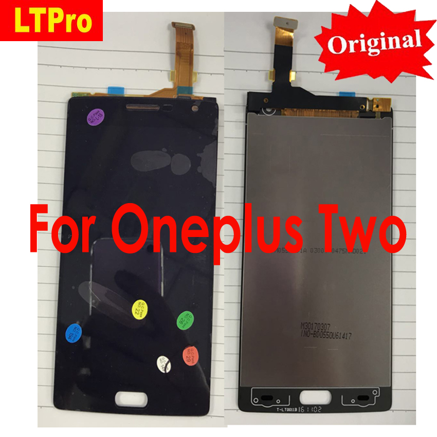 LTPro Best Working LCD Display Touch <font><b>Screen</b></font> Digitizer Assembly For <font><b>Oneplus</b></font> Two/ For <font><b>Oneplus</b></font> <font><b>2</b></font> A2001 Smartphone <font><b>Replacement</b></font> Parts image