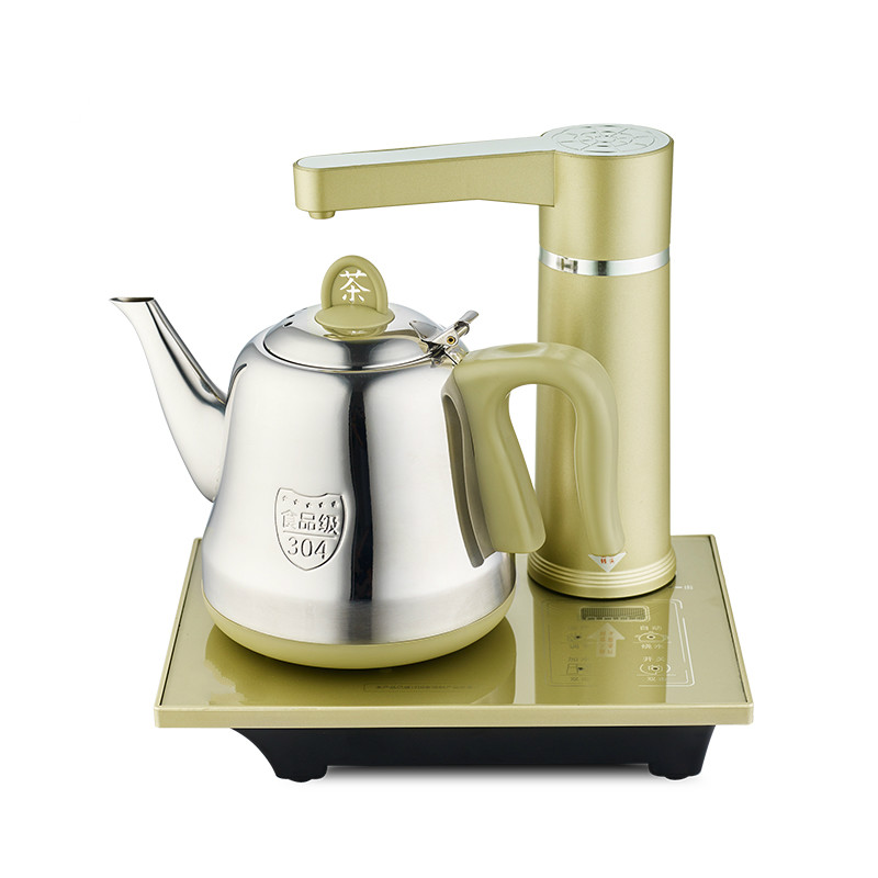 Automatic water electric kettle 304 stainless steel pump set Anti-dry Protection Overheat Protection automatic upper water electric kettle pump 304 stainless steel tea set