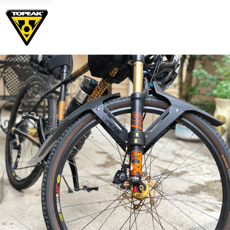 Image 5 - TOPEAK 26 27.5 29 inch MTB mudguard bicycle front rear wing for bicycle mud guard mountain bike fender-in fenders from Sports & Entertainment