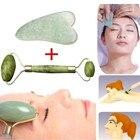 Natural Facial Massage Roller Beauty Massage Jade Roller Face Thin massager Relaxation Tool Dropship face massager jade roller