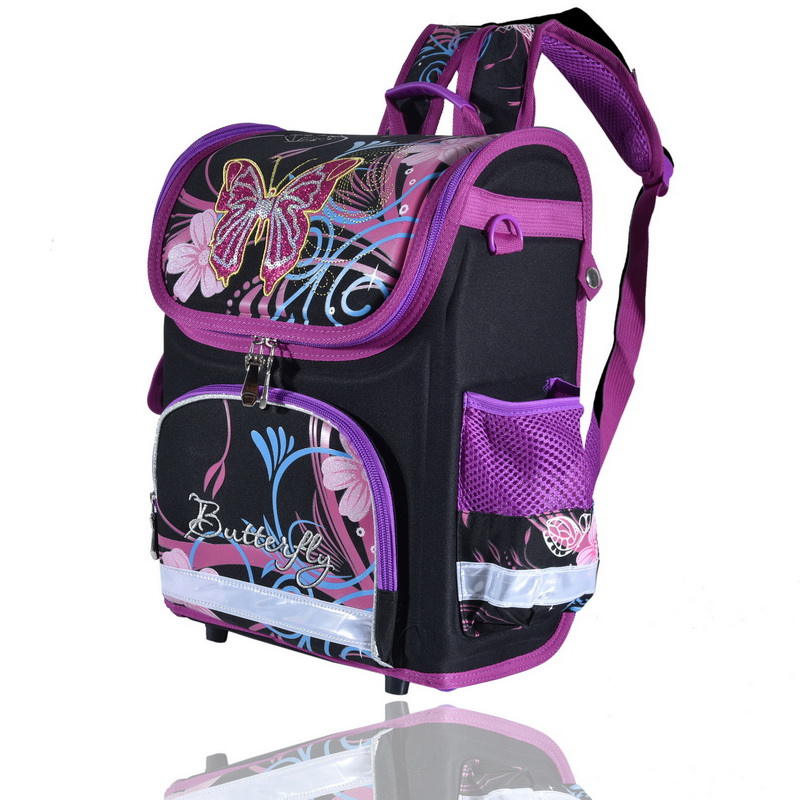 70bf0c403b2d Pls contact us before you leave Neutral or Negative feedback About wenjie  brother Kids butterfly Schoolbag Backpack EVA Folded Orthopedic Children  School ...