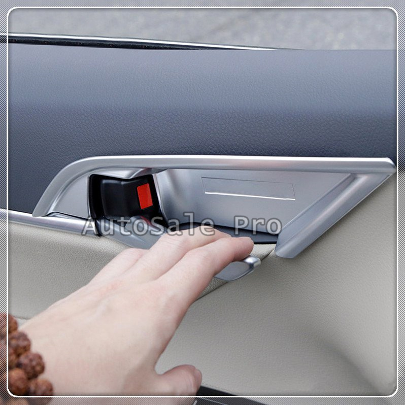 NEW For TOYOTA CAMRY 2018 Accessories Car-styling ABS Matte Door Handle Bowl Decoration Cover