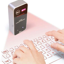 Virtual Keyboard Bluetooth Laser Projection Keyboard for iphone Smartphone PC Tablet Laptop Computer English QWERTY keyboard