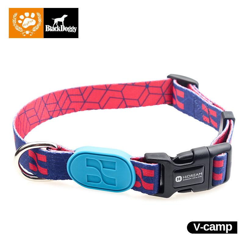 Training Pet Collar Profusion Dog Collars Leads Polyester High Quality For Chihuahua Strong Stitching 40-60cm Adjustable HD01001