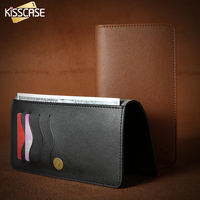 KISSCASE Retro Wallet Bags Case For IPhone 6 6s Plus 7 7 Plus Luxury PU Leather