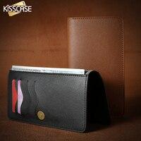 KISSCASE Retro Wallet Bags Case For IPhone 6 6s Plus 7 7 Plus Luxury PU Leather
