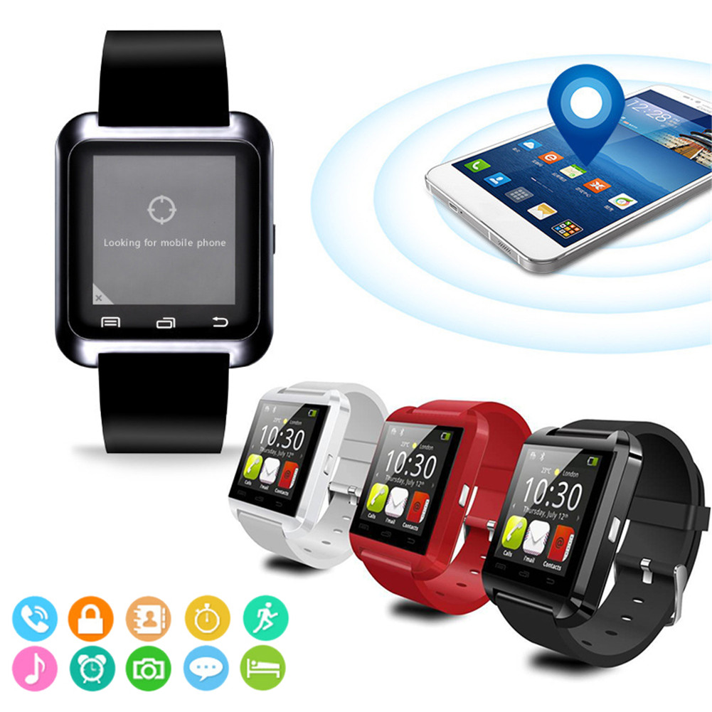 Smartwatch Bluetooth Smart Watch U8 For iPhone IOS Android Smart Phone Wear Clock Wearable Device Smartwatch PK GT08 DZ09