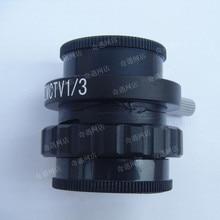 1/3CTV CCD Microscopio Microscopio Accesorios Conector puede Conectar con el Ordenador portátil o la TV