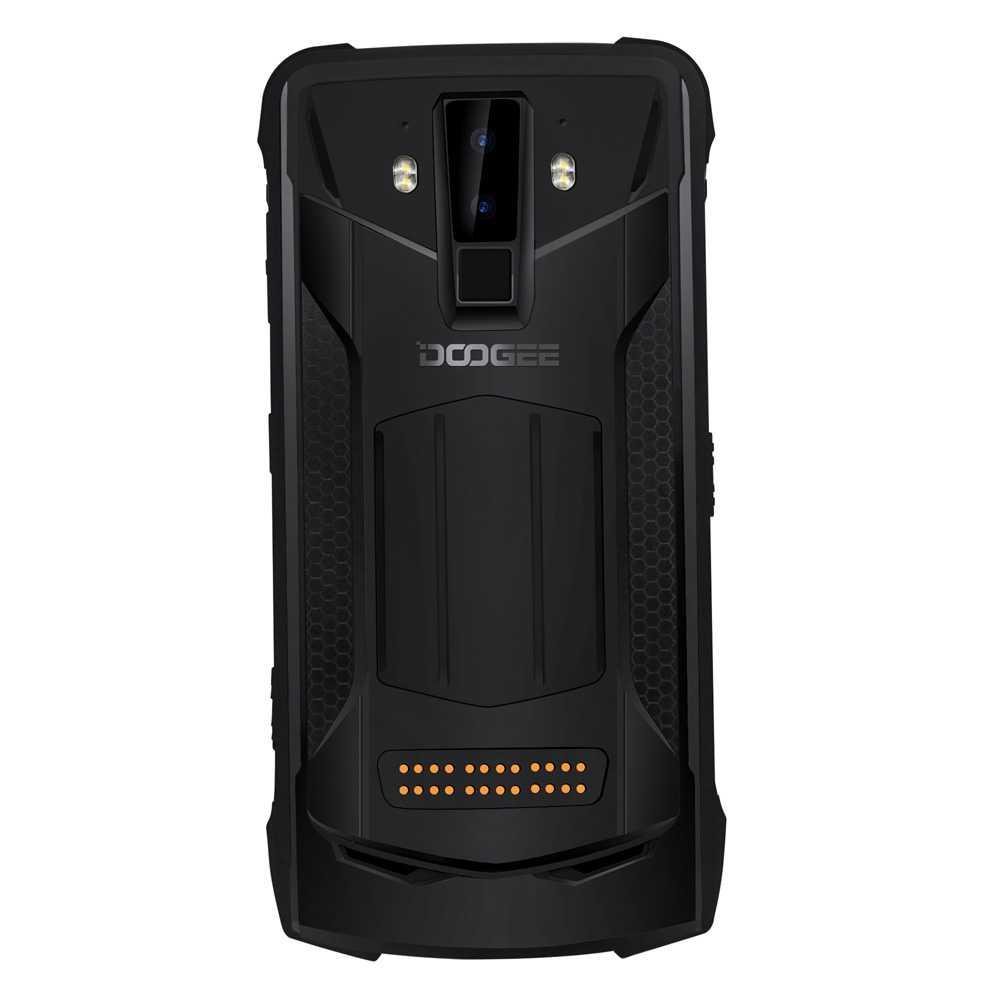 DOOGEE S90 IP68/IP69K étanche 6GB 128GB téléphone portable antichoc 5050mAh 6.18 ''MT6671 16MP caméra Smartphone