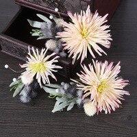 Zuid-korea handgemaakte bloem haarspeldjes 3 stks pak roze vrouwelijke haar styling accessoires Sen bruid hoofdtooi vrouwen haar ornamenten