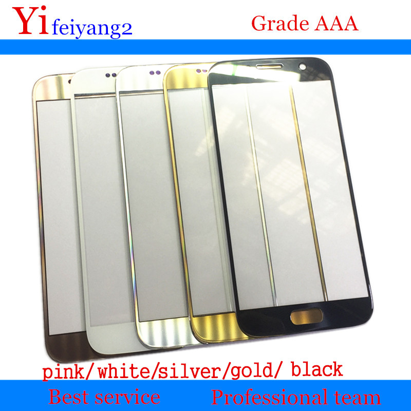 10pcs OEM Replacement Touch Screen LCD Front Outer Glass Lens For Samsung Galaxy s7 G930 g930f