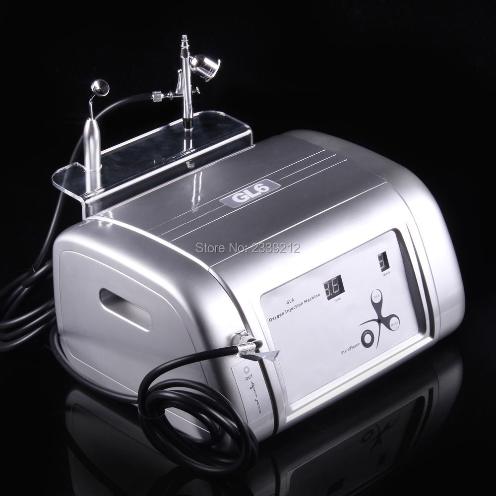 free shipping Oxygen infusion oxygen facial machine/oxygen inject machine/oxygen jet machine