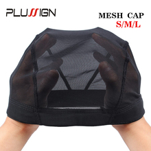 Plussign Wholesale Fast Shipping Wigs Cap Mesh Weaving For Wig Making Glueless Hairnet Small Medium Large 100Pcs/Pack