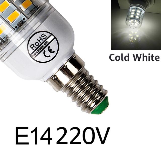 E14 220V Cold White