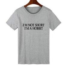 """""""I'M Not Short, I'M A Hobbit"""" T-Shirt / 4 Colors"""