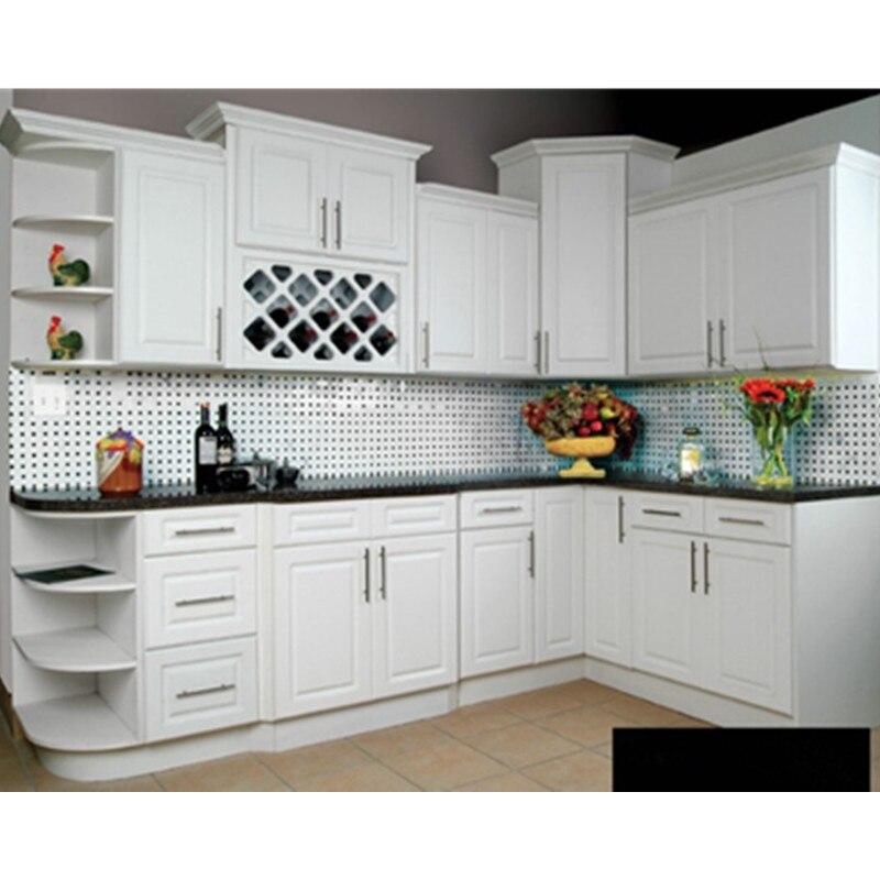 Matt White Lacquer Painting Kitchen Furniture