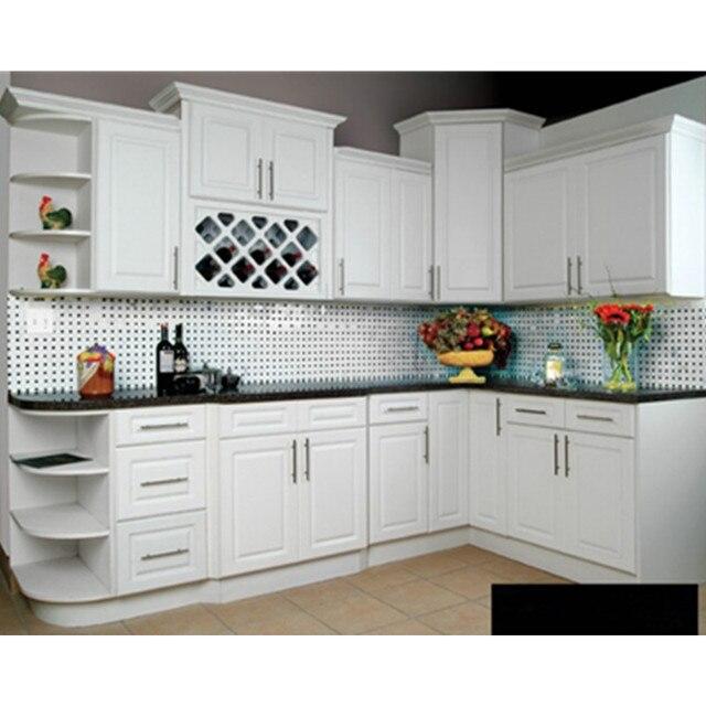 Bianco opaco pittura lacca mobili da cucina in Bianco opaco pittura ...