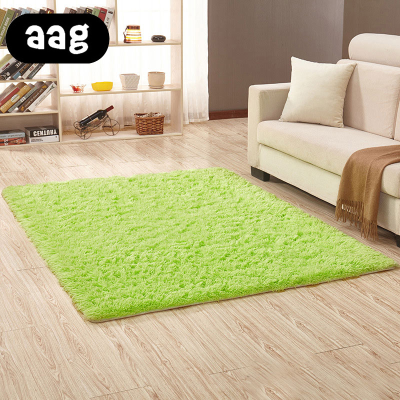 Modern Minimalist Carpet Anti Skid Plush Soft Fluffy Floor: AAG Soft Plush Carpets For Living Room Modern Indoor Home
