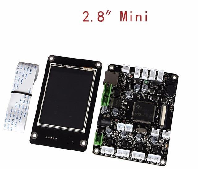 Free Ship 3d printer motherboard red rabbit Mini non-open source control board 3d printer accessories Main Control Panel kits