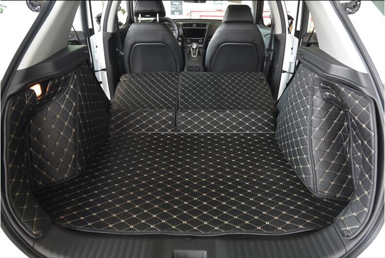 Full Rear Trunk Tray Liner Cargo Mat Floor Protector Foot