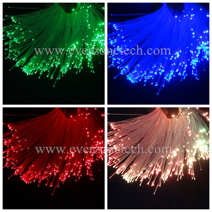 Image 2 - 무료 배송 광섬유 1mm 엔드 라이트 pmma 플라스틱 광섬유 케이블 스풀 1500m 광섬유 램프 케이블