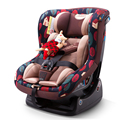 Car child safety seat two-way installation for 0-4 years old baby to use