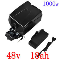 Free Shipping Ebike 48v Battery Electric Bike Battery 48V 18Ah For Bafang 8fun 1000w Motor With