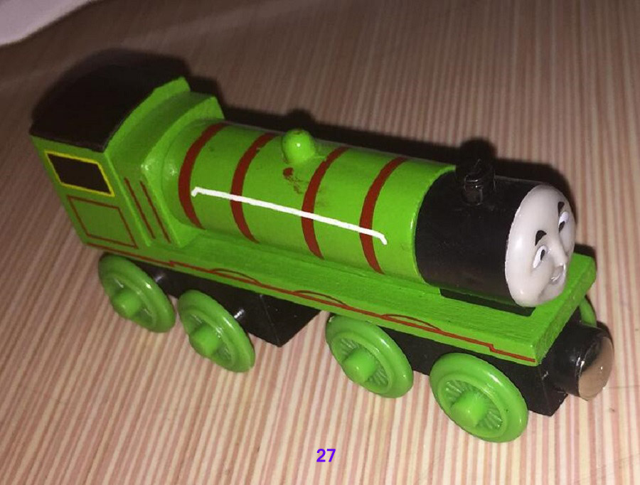 ᑐMagnetic Wooden Thomas 027 Henry ≧ Friends Trackmaster