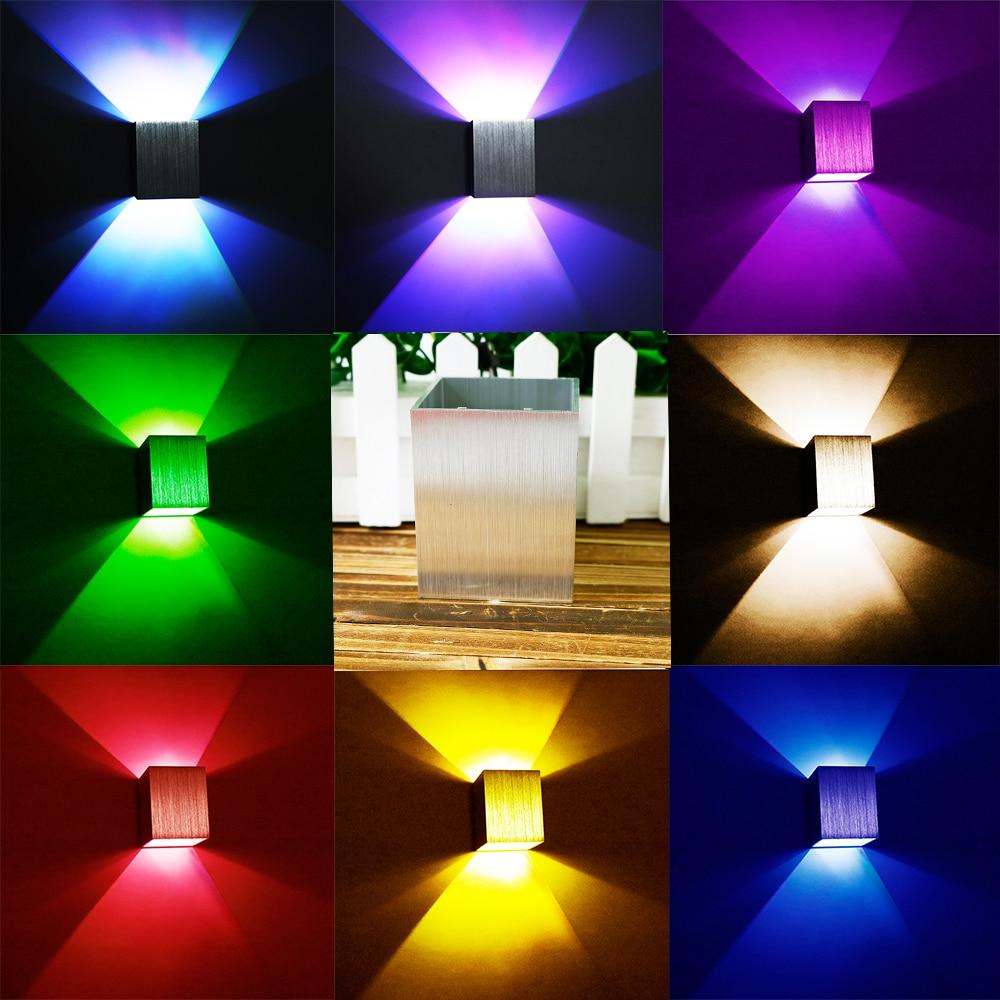 3W LED Moderna Trg Zidna Svjetiljka Aluminijska Svjetiljka Rasvjeta - Unutarnja rasvjeta