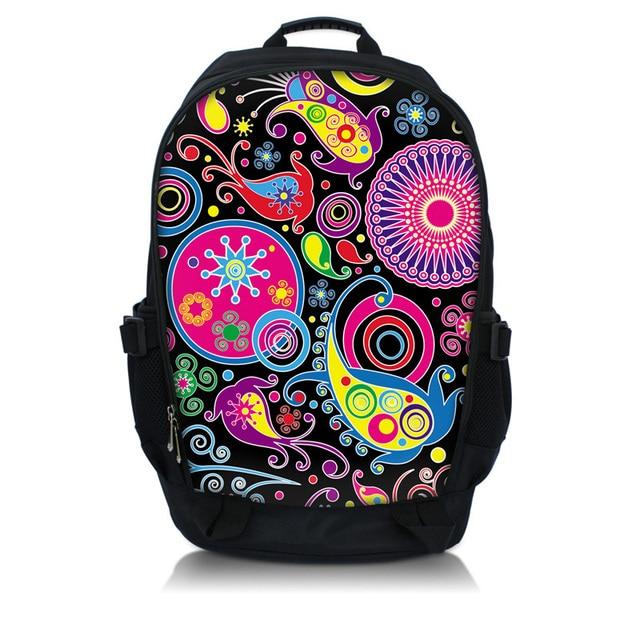 Colorful Laptop Backpack Back Bag Rucksacks Book bags Fit 10\