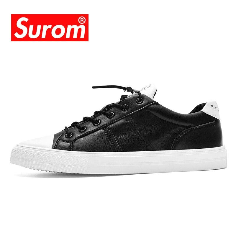 Skateboarding Surom Luxury Brand Footwear Mens Light Skateboarding Shoes Sneakers Breathable Krasovki Summer Sport Outdoor Jogging Shoes Men