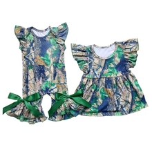 Camo Infant Romper Shirts Gown Baby Sleepers Clothes Romper